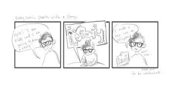 My life in comics 1