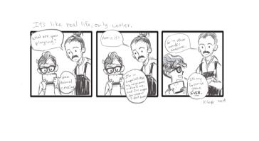 My life in comics 2